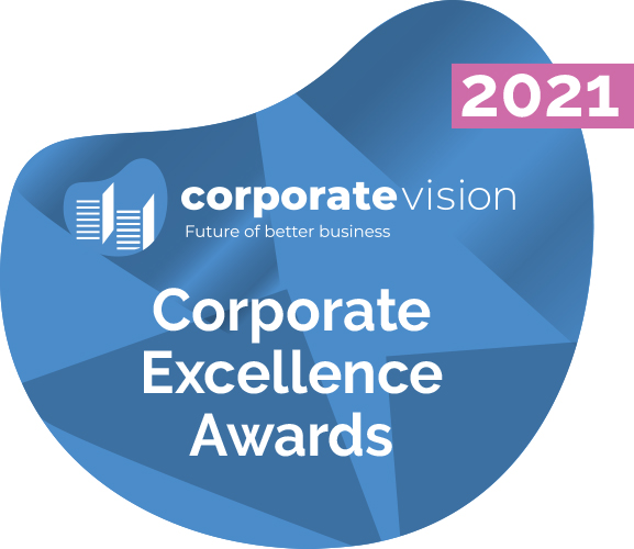 Corporate Vision - Corporate Excellence Awards 2021 Logo